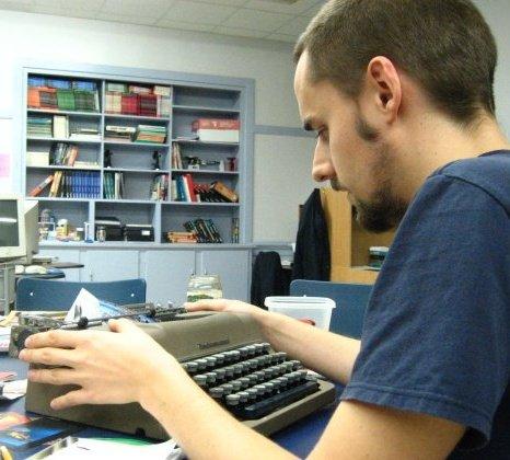T.O.F.U. editor hard at work