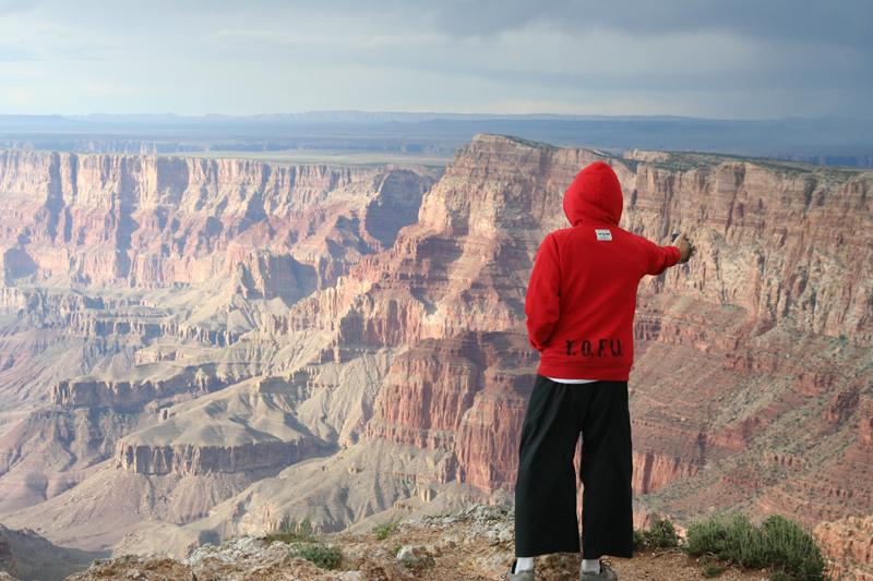 T.O.F.U. at the Grand Canyon