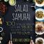 The cover of Terry Hope Romero's Salad Samurai cookbook