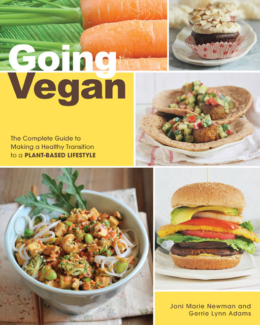 The cover image of Going Vegan