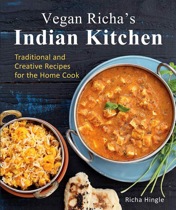 Cover for Vegan Richa's Indian Kitchen