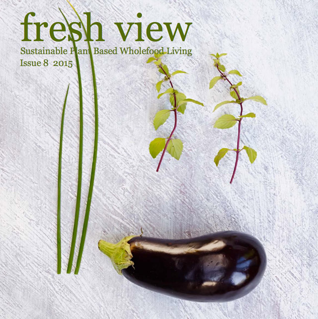 Cover of Issue 8 of Fresh View Magazine
