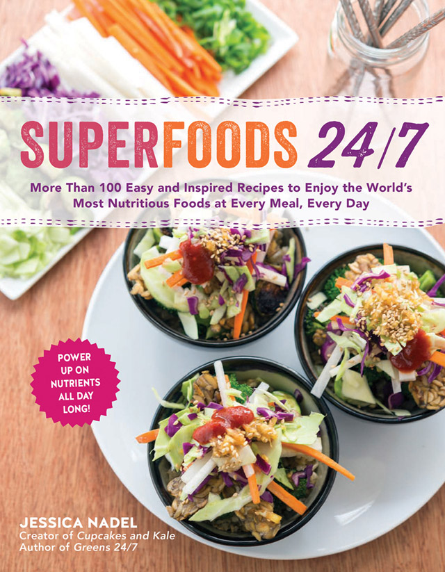 Cover for Superfoods 24/7 by Jessica Nadel