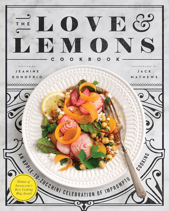 Cover of Love and Lemons by Jeanine Donofrio