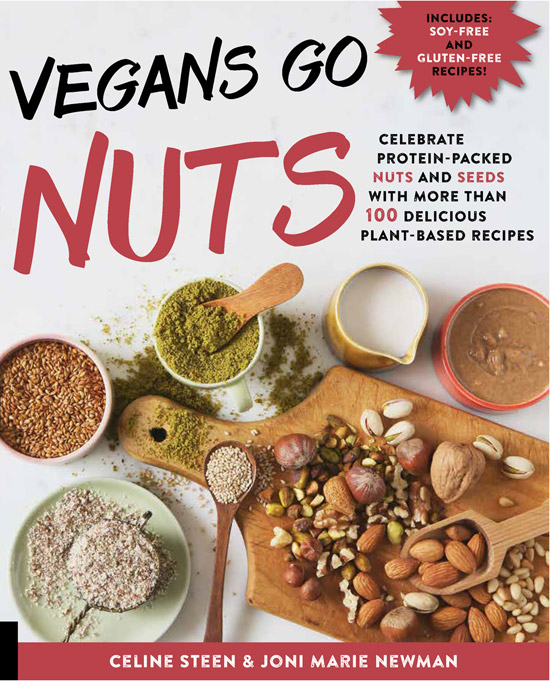 Cover for Vegans Go Nuts