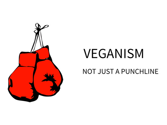 Cover for Veganism No Longer a Punchline