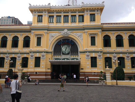 Cover for Saigon Central Post Office