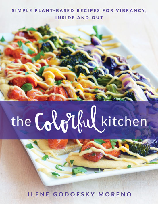 Cover for The Colorful Kitchen by Ilene Godofsky Moreno